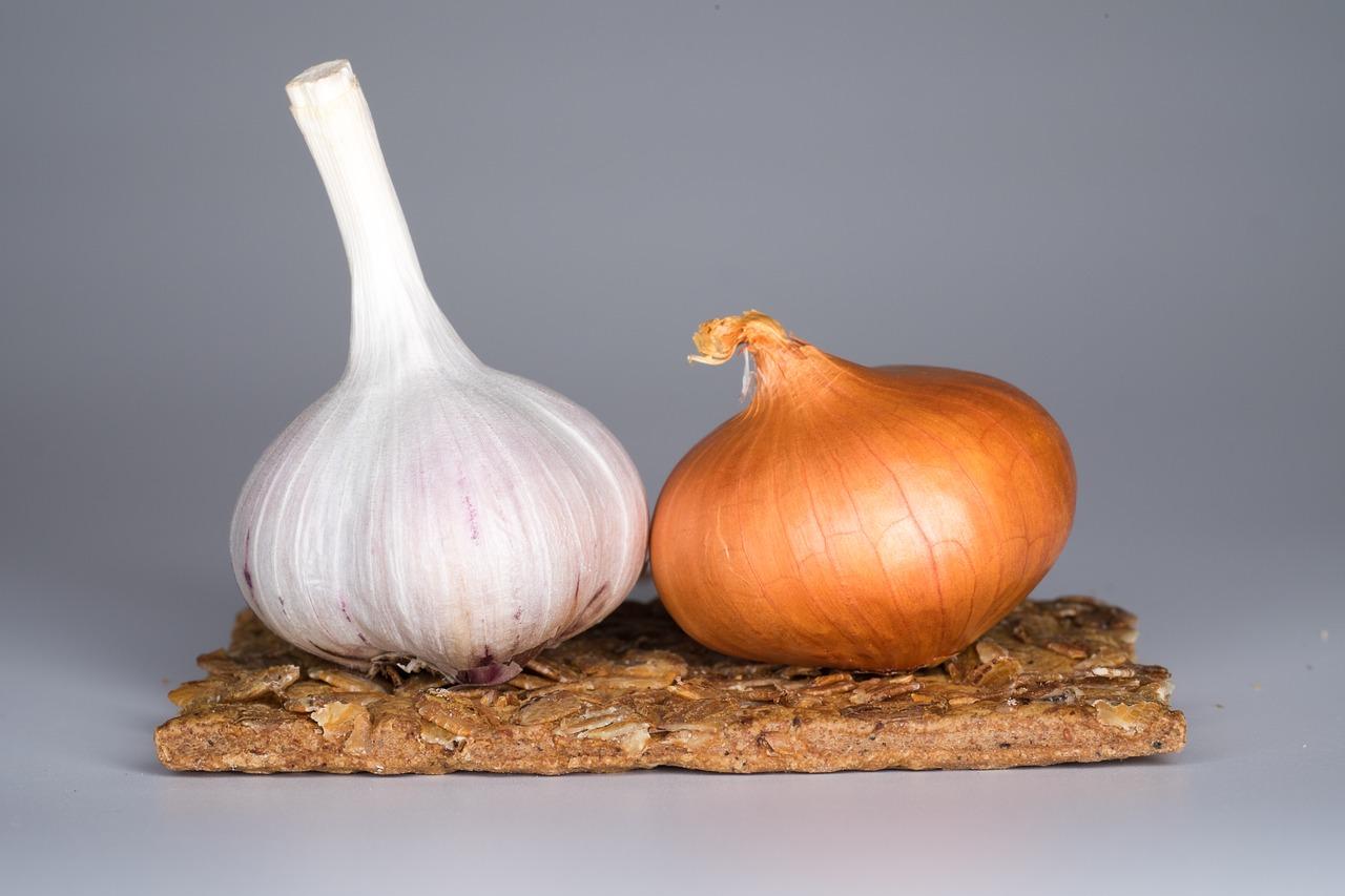 czosnek i cebula - naturalne antybiotyki